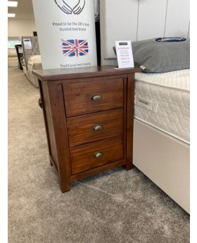 Classic Driftwood Large Bedside Chest