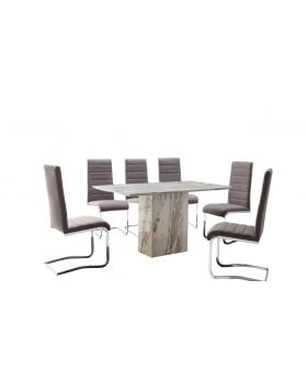 Alfrank Caballo Dining Table & 6 Chairs Package Offer