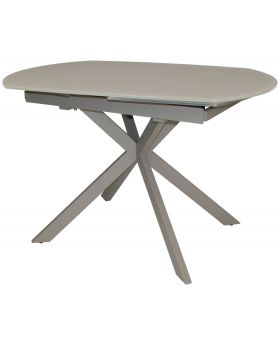 Classic Flux Twist Motion Dining Table - Cappuccino