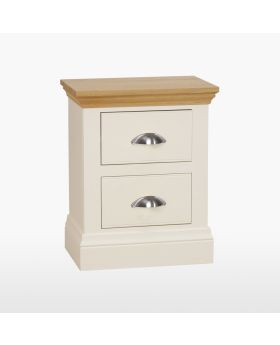 TCH Coelo Bedroom Bedside Table with 2 Drawers