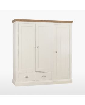 TCH Coelo Bedroom Triple Ladies Wardrobe