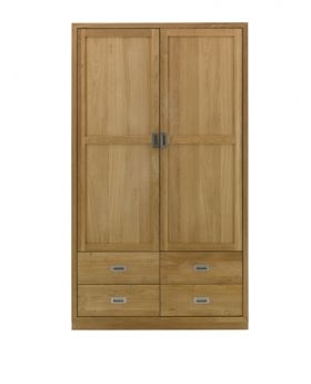 Unique Costa Bedroom 2 Door Wardrobe