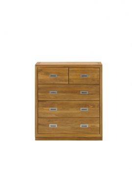 Unique Costa Bedroom Chest 3 + 2 Drawer