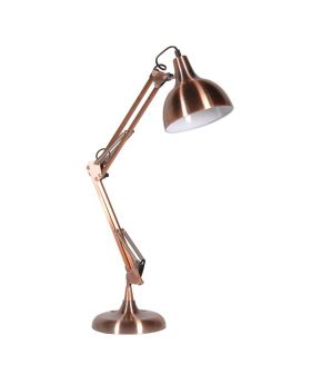 Copper Angled Desk Lamp