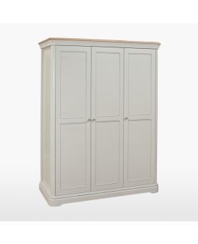 TCH Cromwell Bedroom Triple Wardrobe