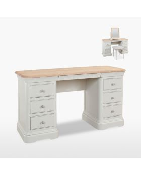 Stag Cromwell Bedroom Double Dressing Table