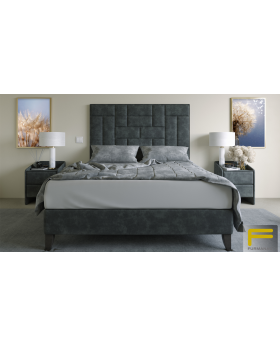 Furmanac Cube Ottoman Upholstered Bed Frame