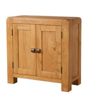 Devonshire Avon Oak Small Cabinet 2 Door