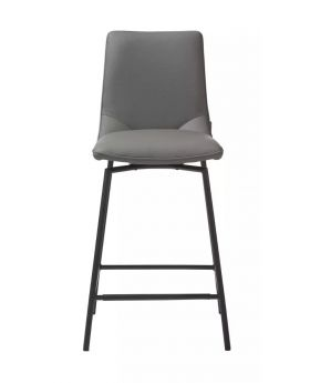 Davy Barstool - Taupe / Black Legs