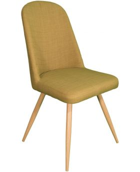 Pair of Classic Reya Dining Chair - Olive Green