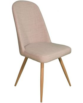 Pair of Classic Reya Dining Chair - Ivory