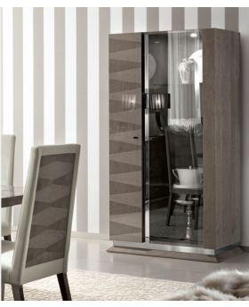 ALF Monaco 2 Door Curio Display Cabinet