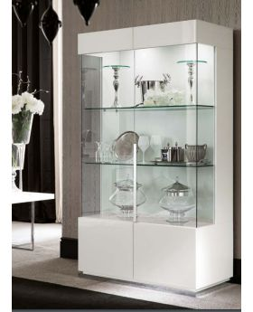 ALF Canova 2 Door Curio Display Unit