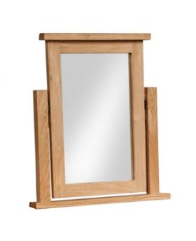 Devonshire Wessex Oak Dressing Table Mirror