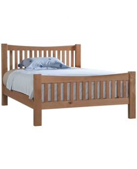 Devonshire Wessex Oak 3' Single Bedframe