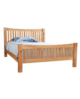 Devonshire Wessex Oak 5' Kingsize Bedframe
