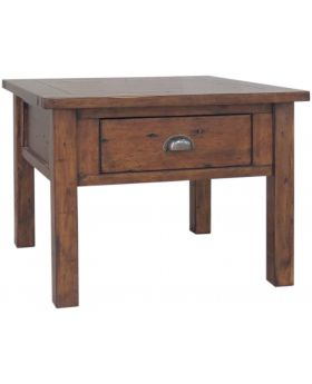 Classic Furniture Driftwood Reclaimed Pine Lamp Table