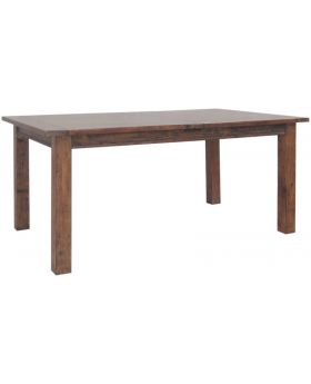 Classic Furniture Driftwood Reclaimed Pine Large Extending Dining Table