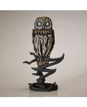 Edge Sculpture Owl Figure