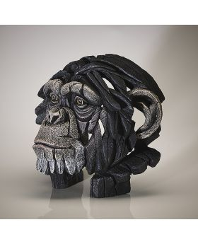 Edge Sculpture Bust Chimpanzee