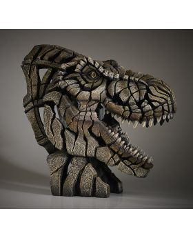 Edge Sculpture Bust T Rex
