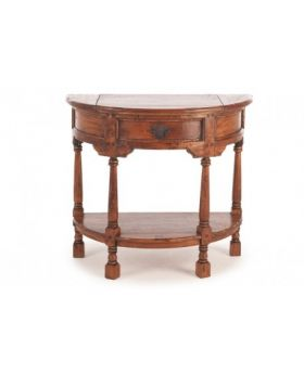 Ancient Mariner East Indies Half Round Console