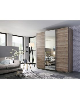 Rauch Elaya 3 Door Sliding Robe - Sanremo Oak