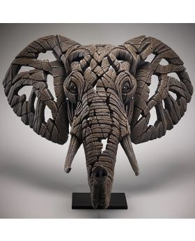 Edge Sculpture Elephant Bust