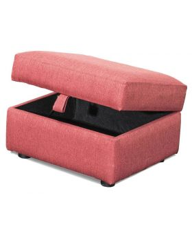 Fleming Storage Stool in XE Fabric