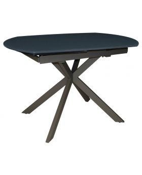 Classic Flux Twist Motion Dining Table - Grey