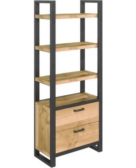 Classic Fusion Bookcase with Drawers
