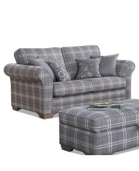 Georgia 2 Seater Sofa in XE Fabric