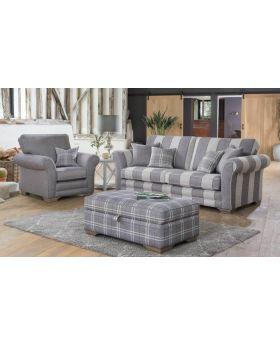 Georgia 3 Seater Sofa in XE Fabric