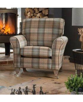 Georgia Accent Chair Studio in XE Fabric