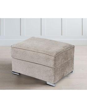 GFA Camden Mink Ottoman Footstool