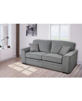 GFA Islington Platinum Fixed 3 Seater Sofa