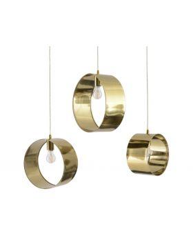 Libra Ara set of 3 Gold Pendants