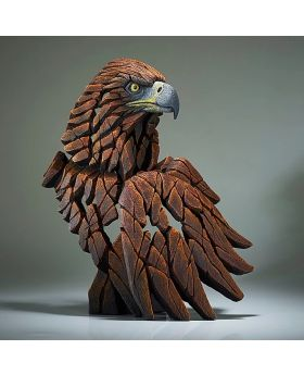 Edge Sculpture Golden Eagle Bust
