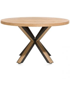 Habufa Ovada Starburst Round Dining Table