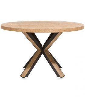 Habufa Ovada Starburst Round Dining Table