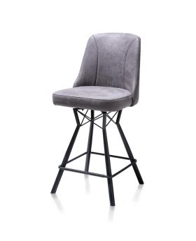 Habufa Eefje Detroit Bar Stool - Anthracite