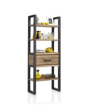 Habufa Brooklyn Bookcase with Drawer