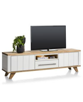 Habufa Jardin 210cm TV Unit in White