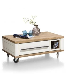 Habufa Jardin Coffee Table in White
