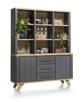 Habufa Jardin 9 Hole Cabinet in Anthracite