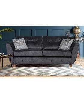 GFA Holborn Fixed 2 Seater Sofa In Graphite
