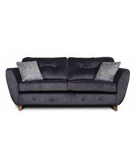 GFA Holborn Fixed 3 Seater Sofa In Graphite