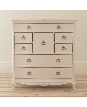Willis and Gambier Ivory Bedroom 8 Drawer Chest