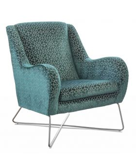 Jasmine Accent Chair Whistler in XE Fabric