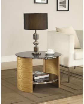 Jual JF303 Oak Lamp Table